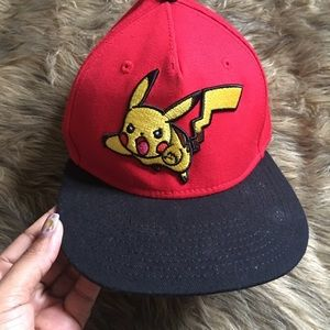 Pokémon fitted hat.